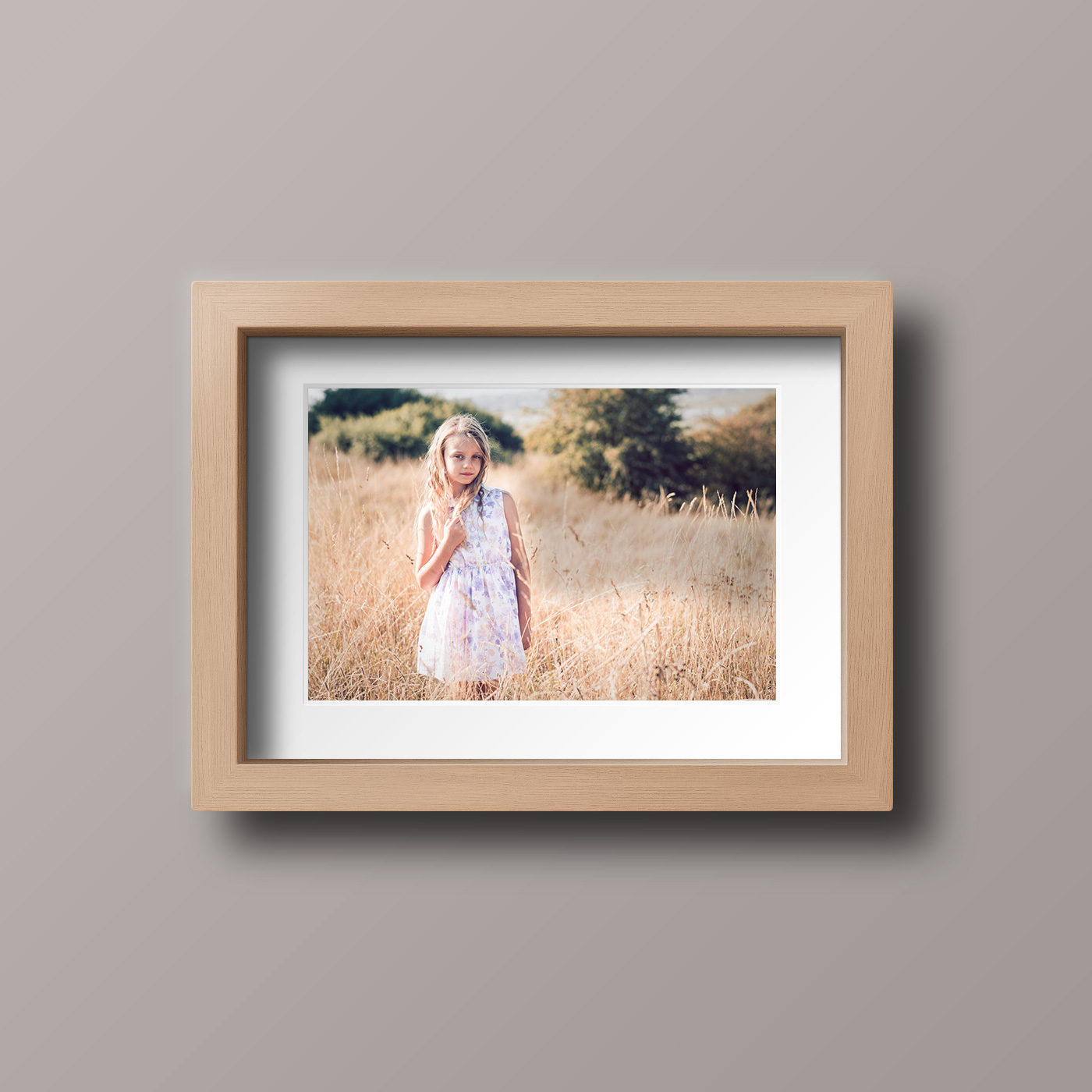 Wood Photo Frame - Square